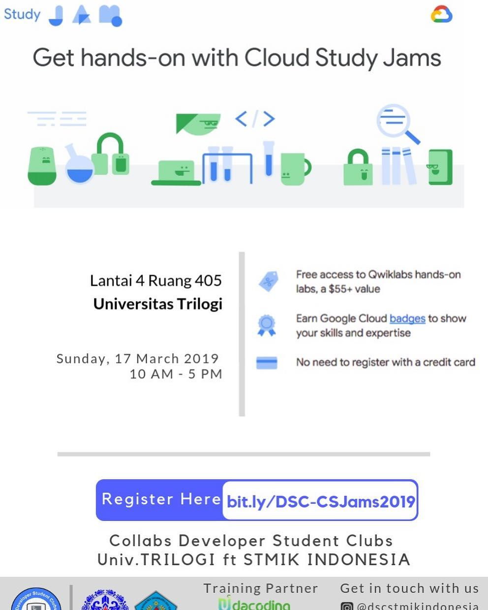 google cloud study jam