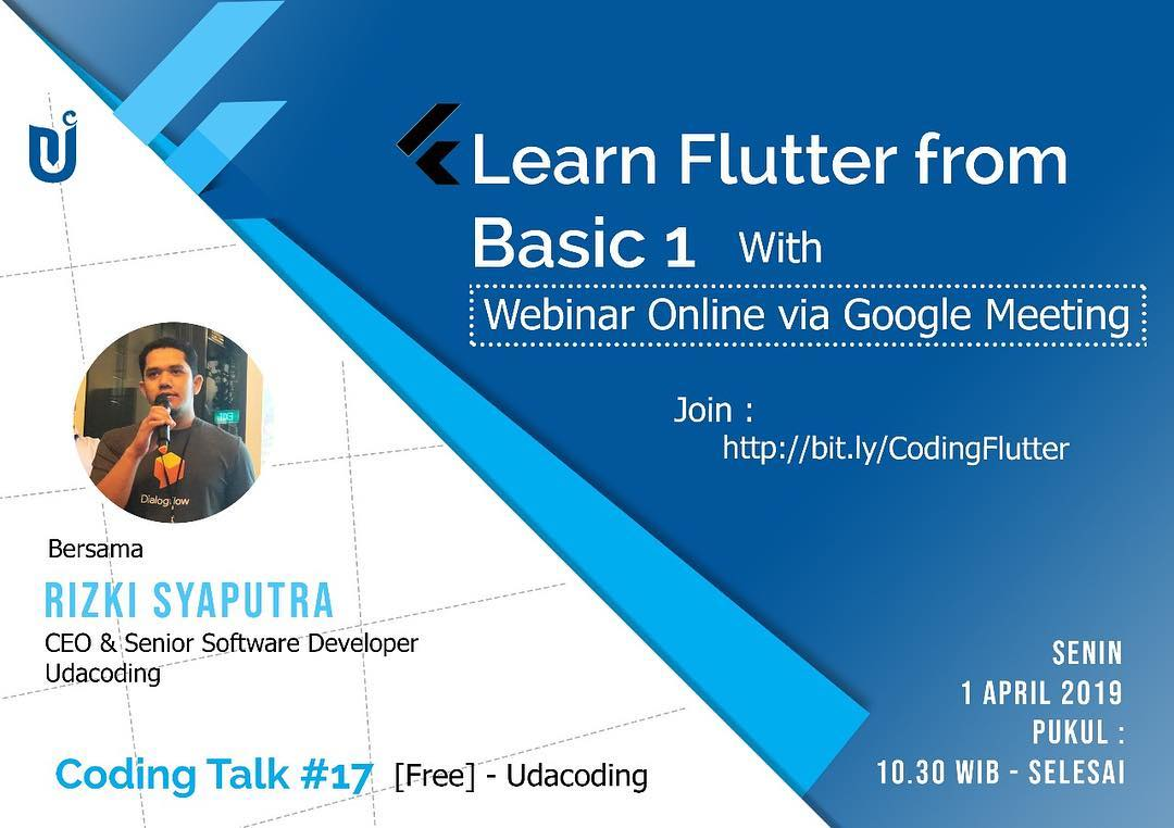 training flutter