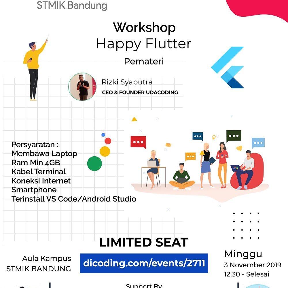 Workshop Flutter Bandung