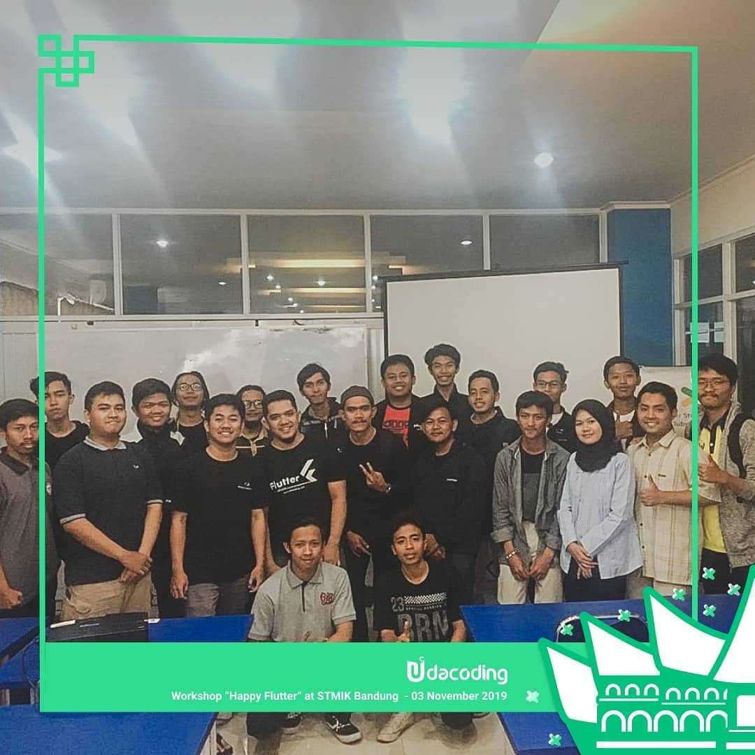 WORKSHOP HAPPY FLUTTER BANDUNG