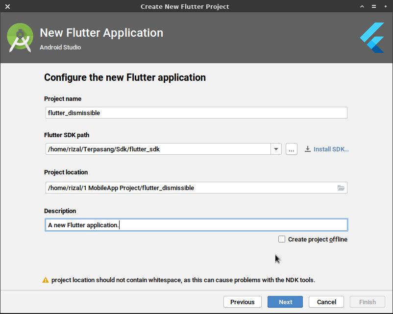 image Cara ListView Item bisa digeser kesamping pada Flutter menggunakan Dismissible