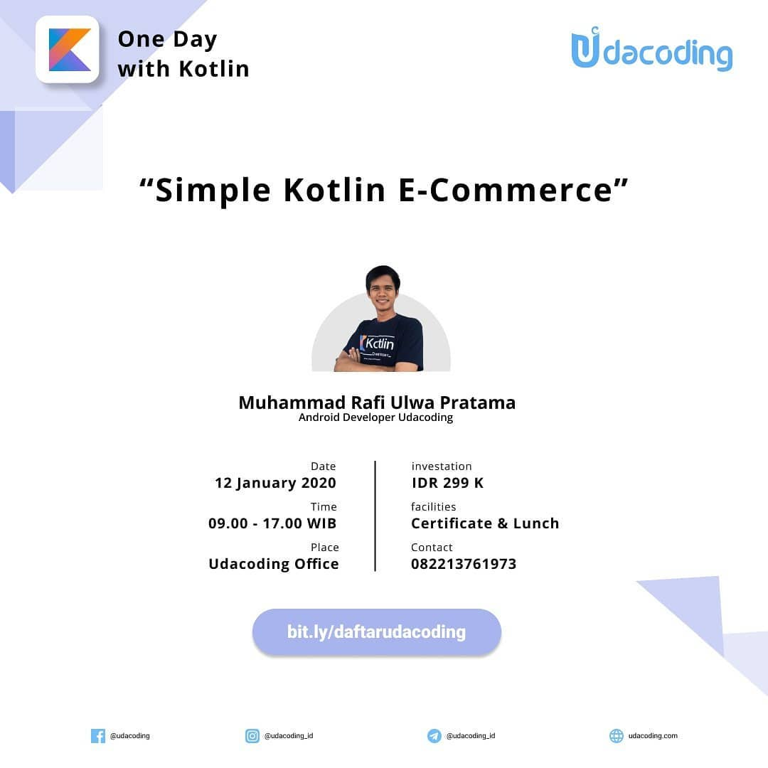 Workshop Kotlin E-commerce