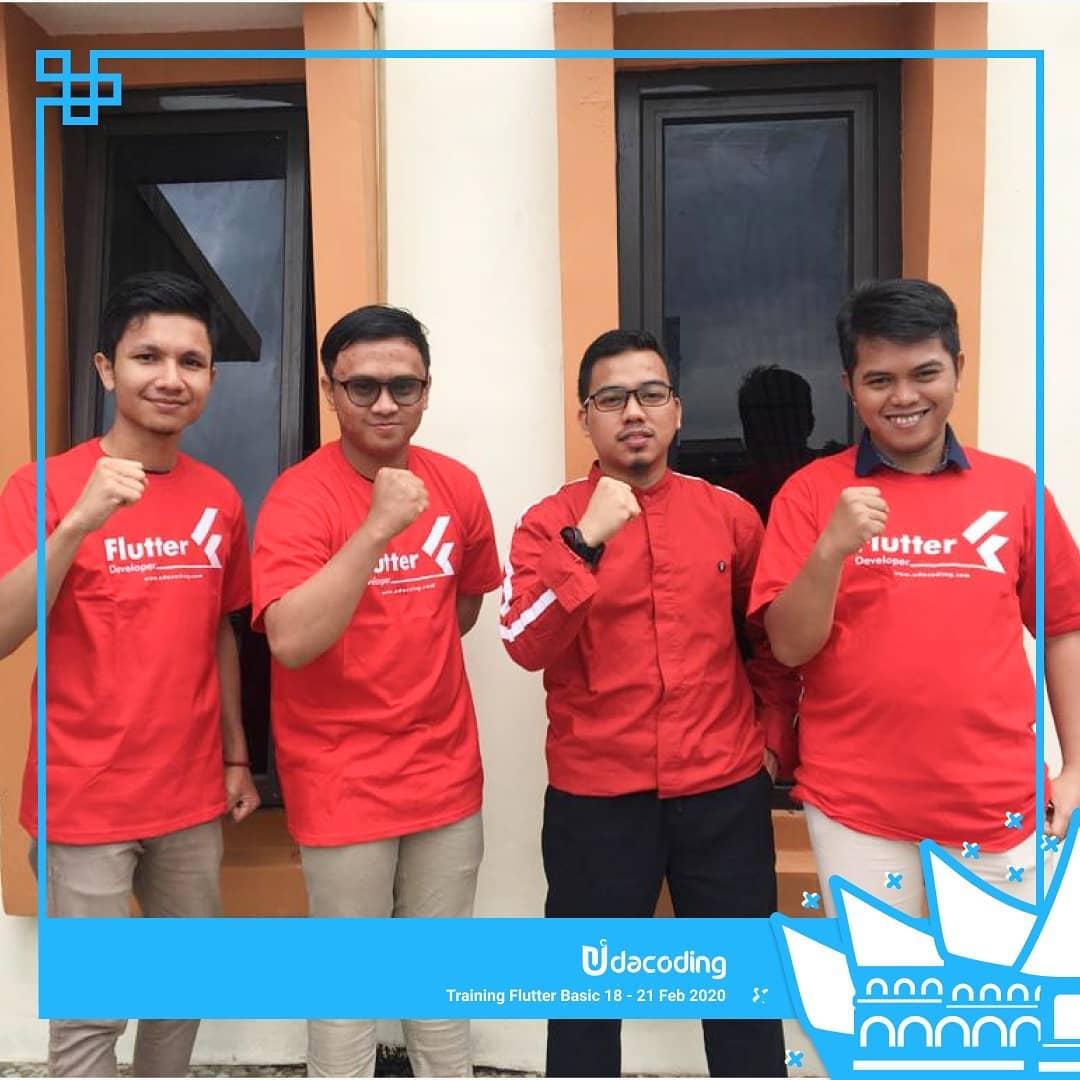 Training Flutter Basic Jakarta