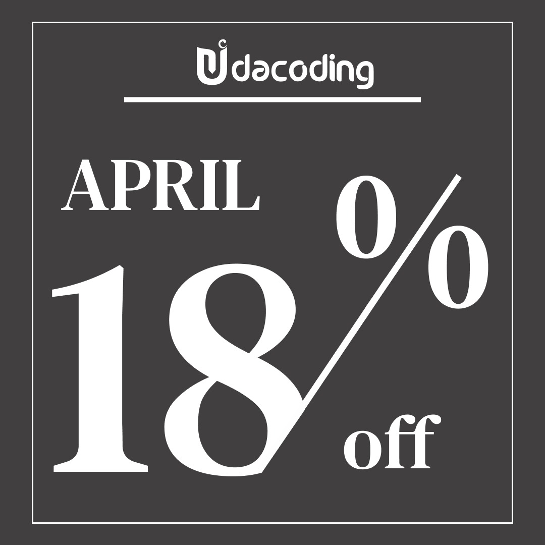 Promo April Udacoding