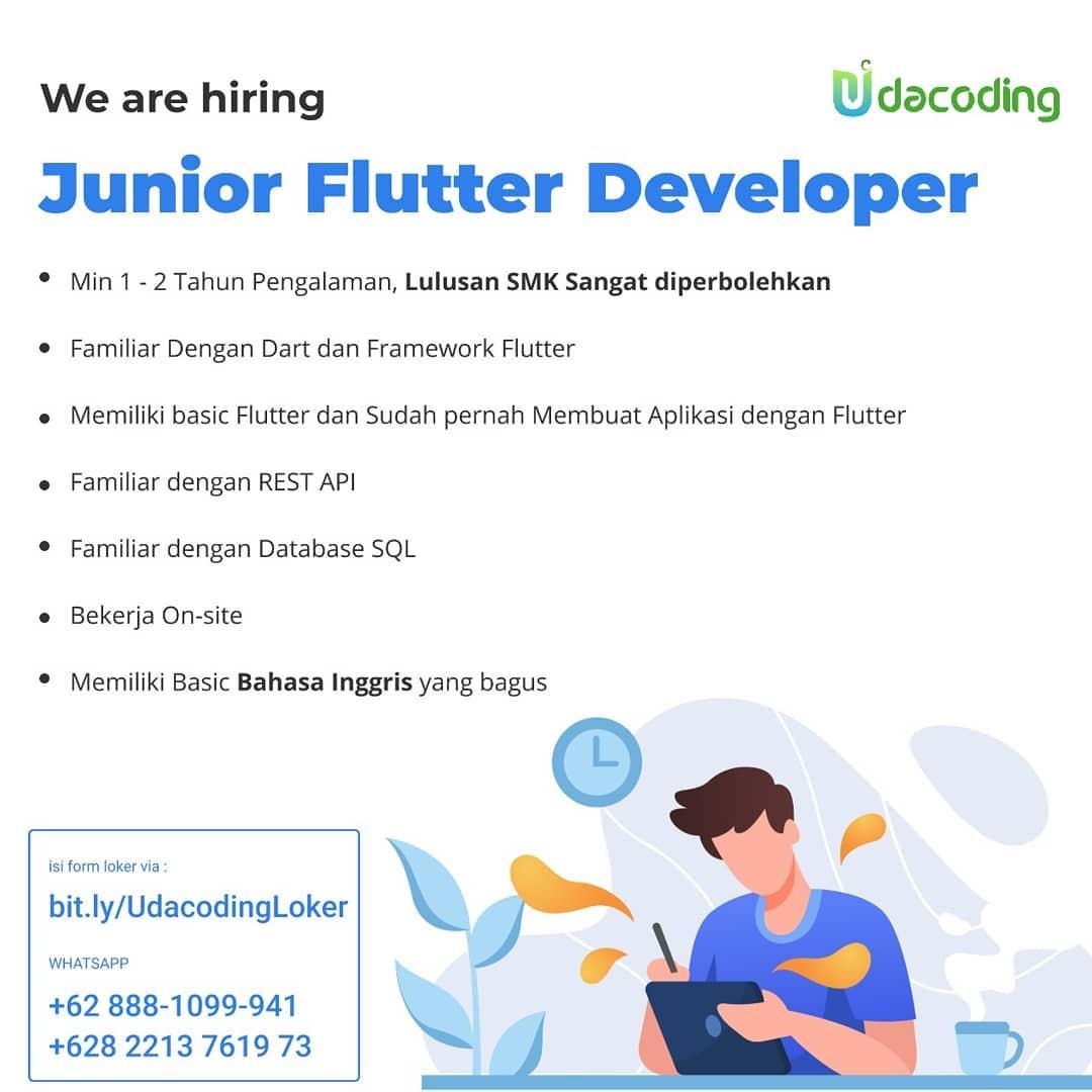 loker flutter developer