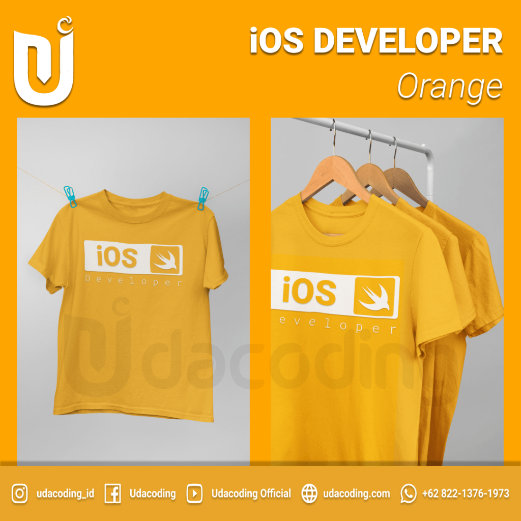 IOS-DEVELOPER-ORANGE-2-min-1024x1024 Pre Order T-Shirt Udacoding Store