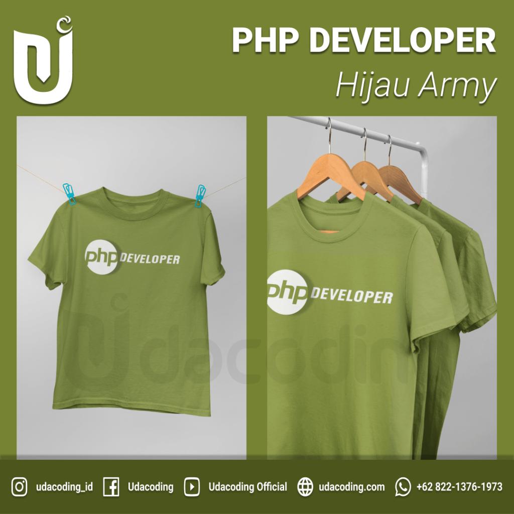 PHP-HIJAU-ARMY-2-min-1024x1024 Pre Order T-Shirt Udacoding Store