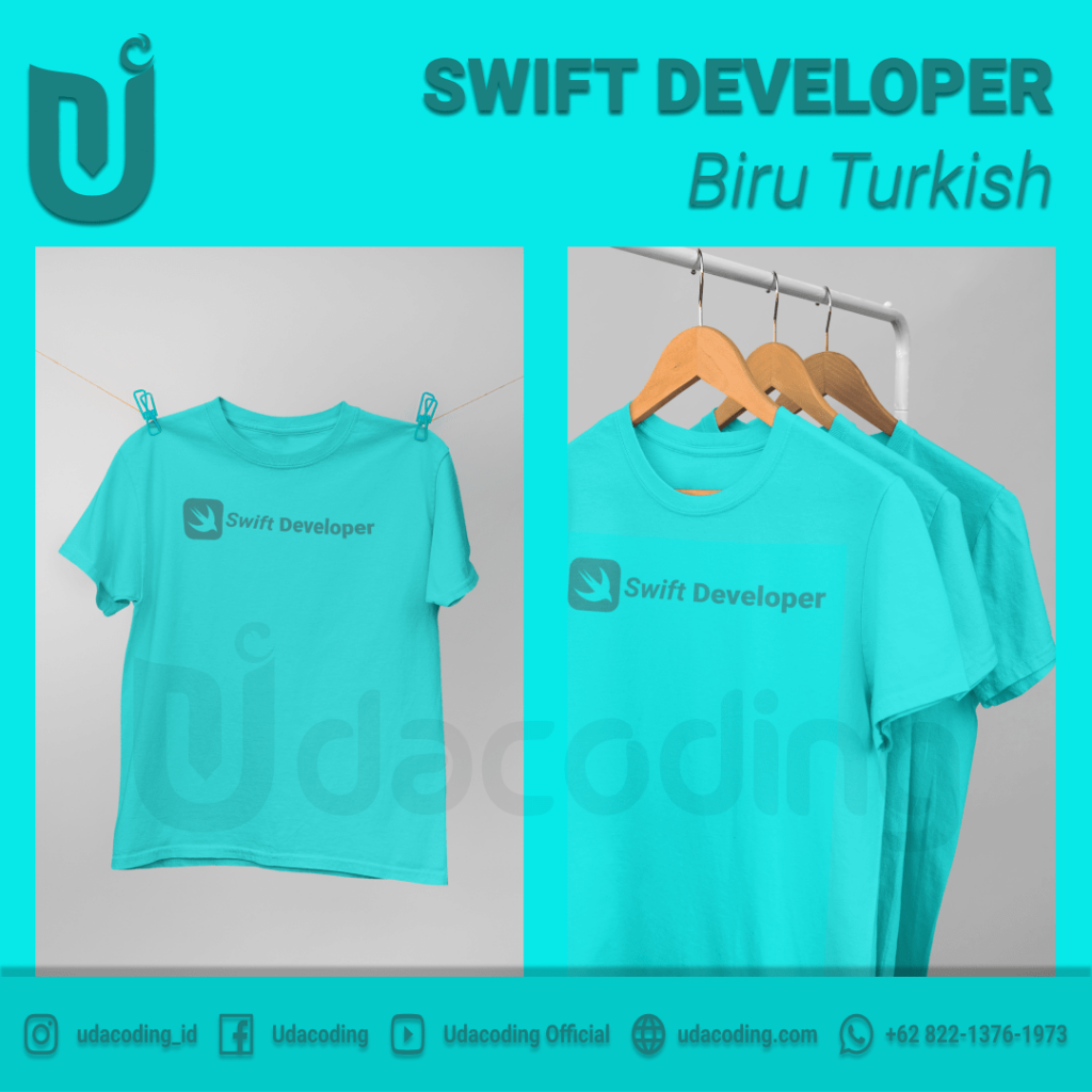 SWIFT-DEVELOPER-BIRU-TURKISH-2-min-1024x1024 Pre Order T-Shirt Udacoding Store