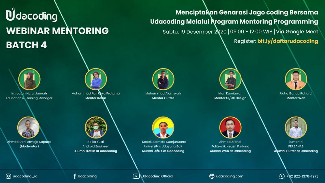 webinar mentoring batch 4