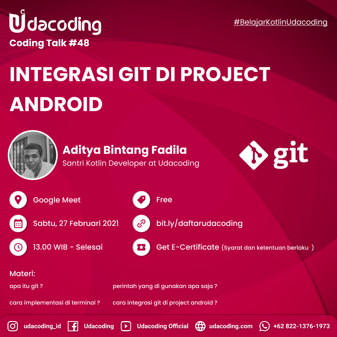 Intergrasi GIT di Project Android