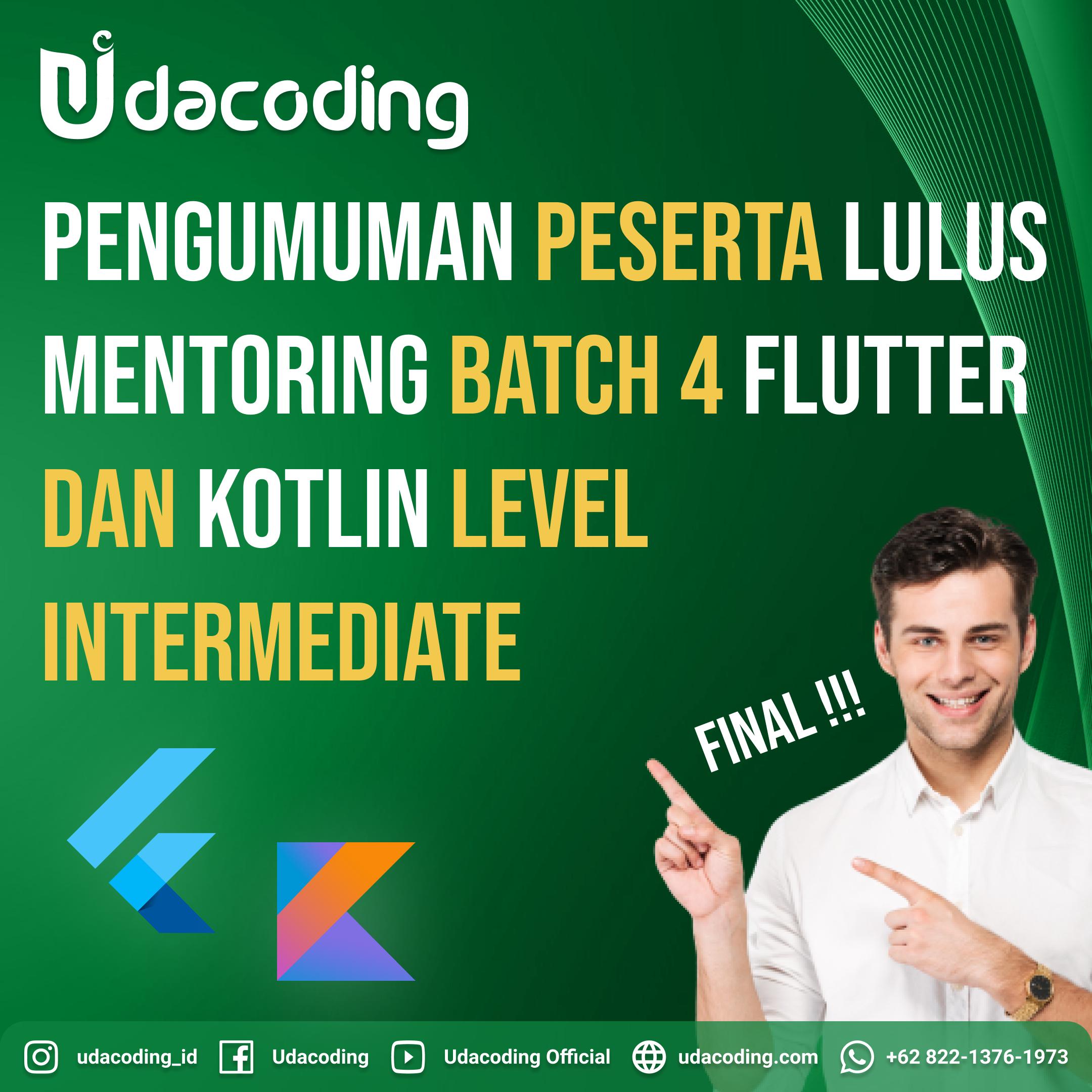 Beasiswa Mentoring Udacoding