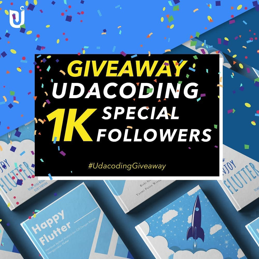 Giveaway 1k followers
