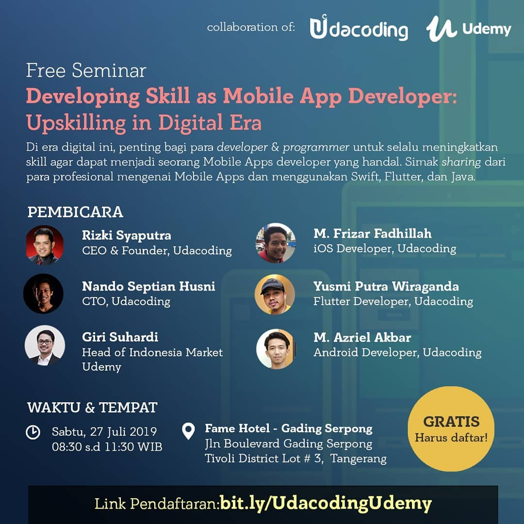 Seminar Kolaborasi Udacoding - Udemy