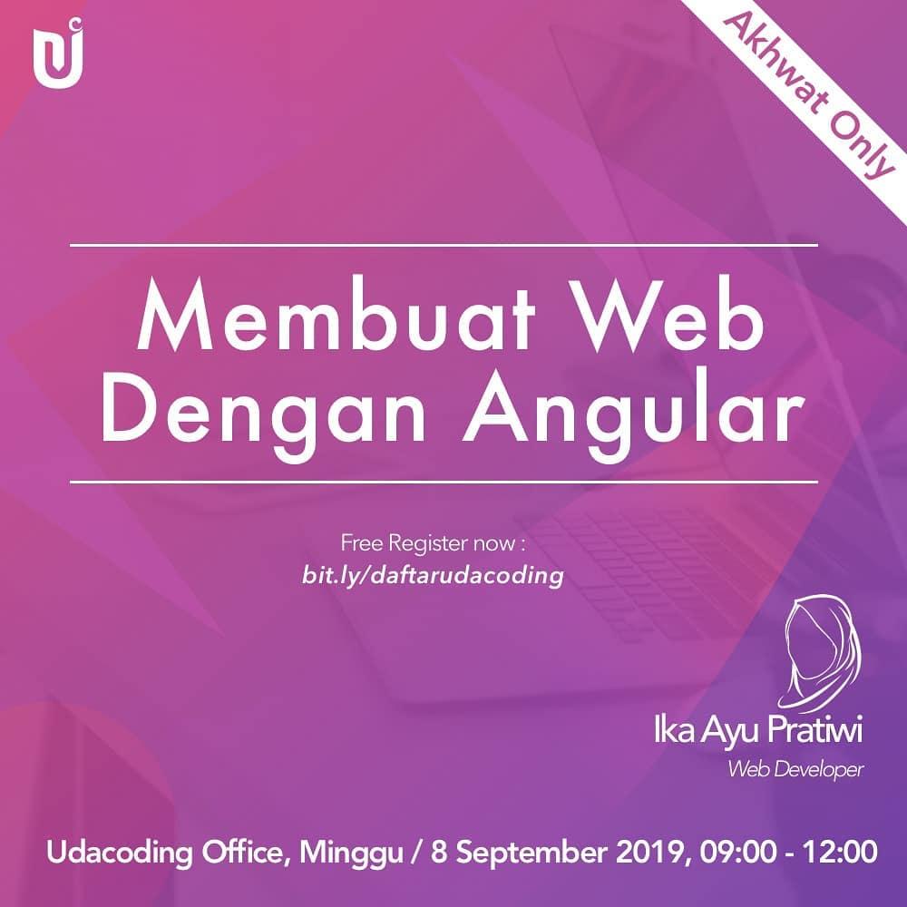 membuat web dengan angular
