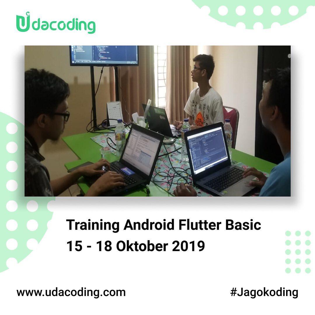 Training Flutter Basic