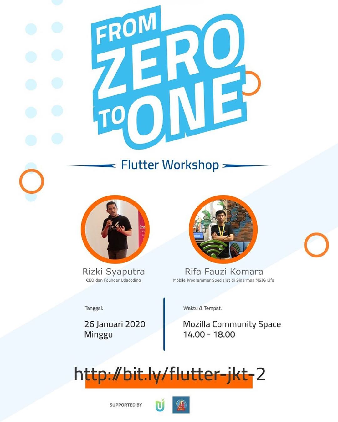 flutter from zero to one