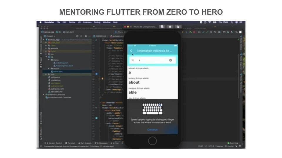 flutter mentoring