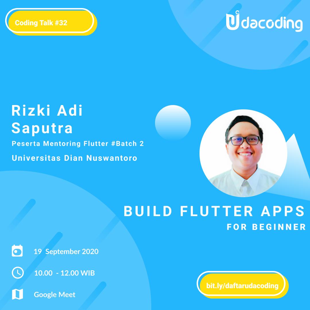 workshop flutter online