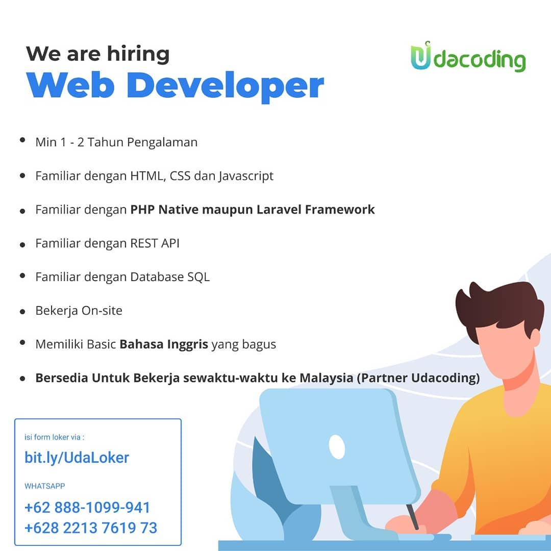 loker web developer