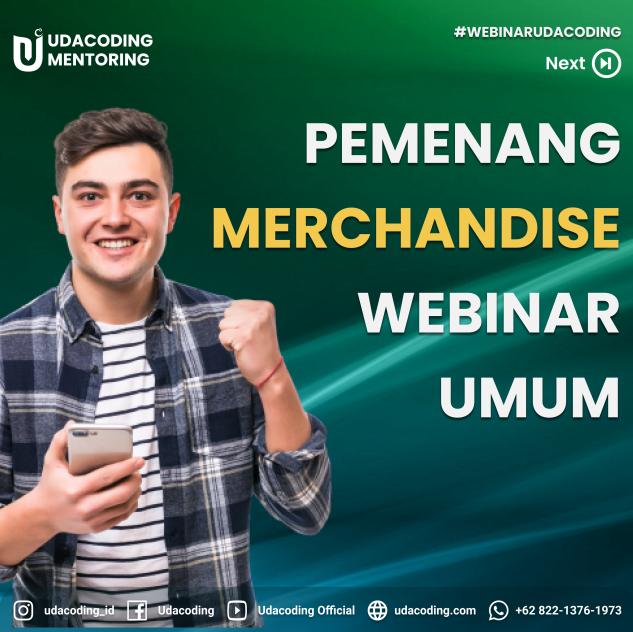 Merchandise Udacoding