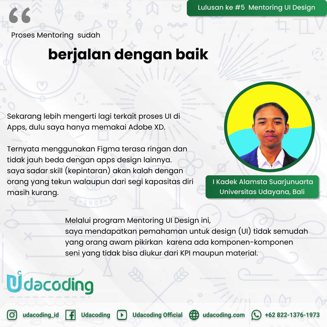 Mentoring UI Design Indonesia