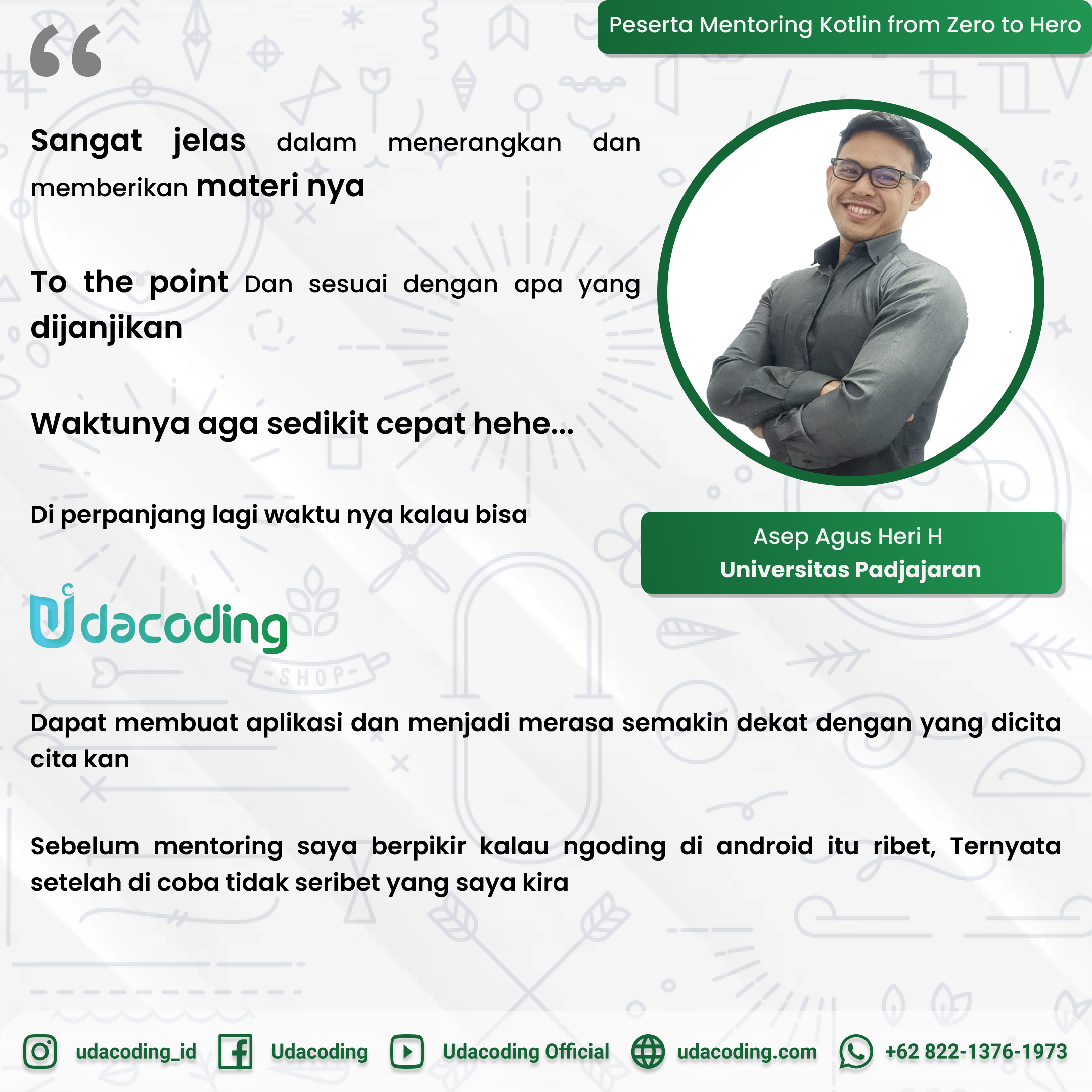 Mentoring Developer