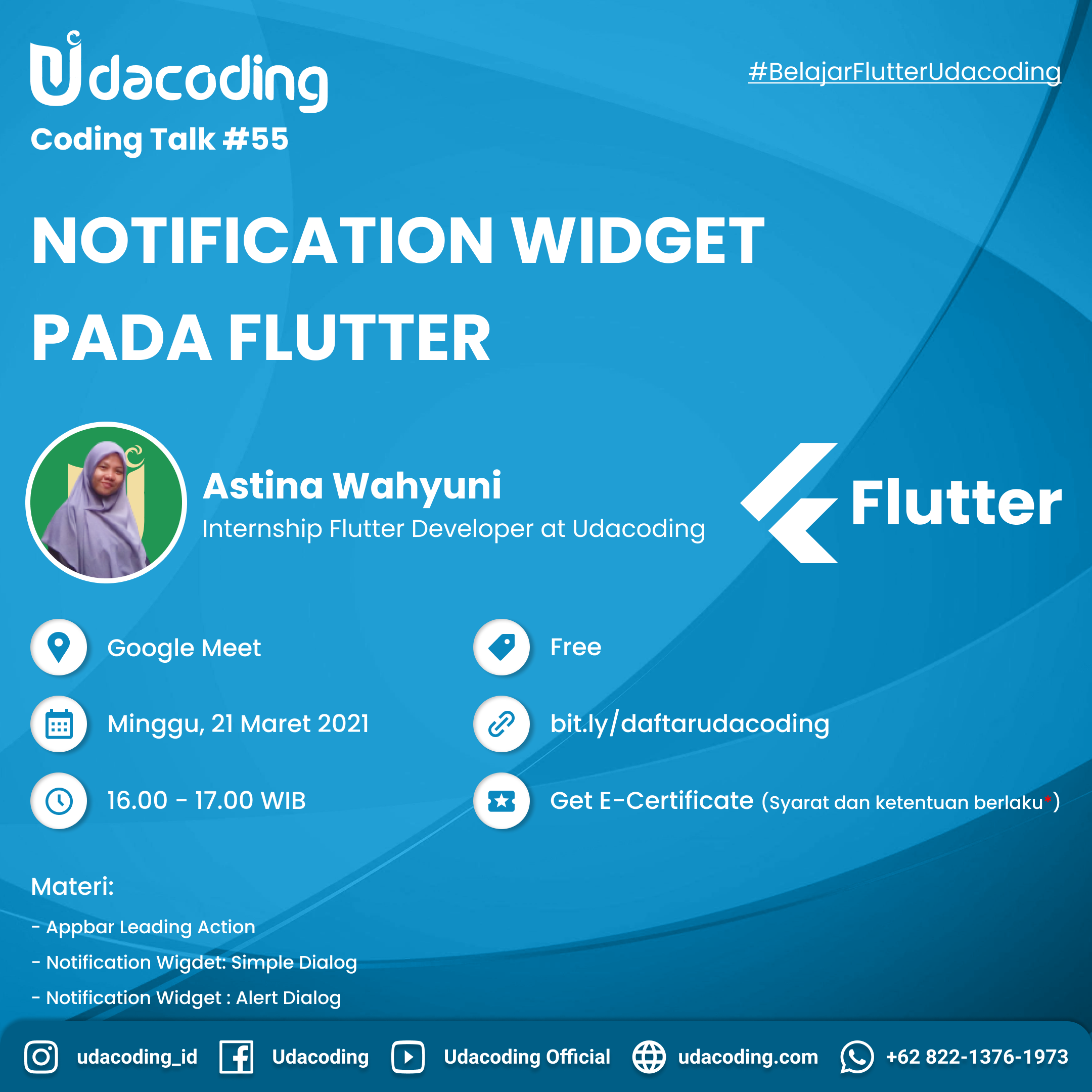 Notification Widget Pada Flutter
